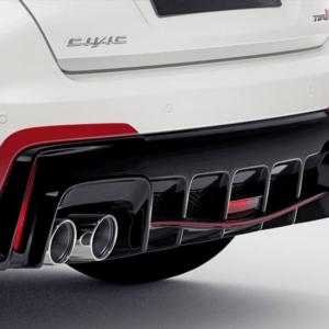 Honda Type R 2015-2016 Rear Diffuser Decoration 08F24-TV8-600