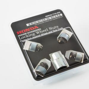 Honda Jazz 2016-2019 Wheel Lock Nuts - Black 08W42-T7S-600