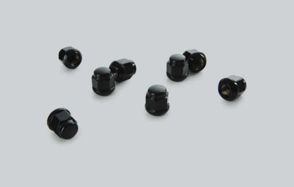 Honda Jazz 2020-Currect Wheel Cap Nuts Black 08W42-TDJ-000