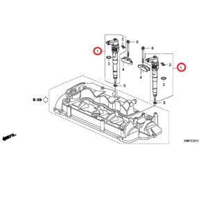Honda Civic 2006-2011 Fuel Injector, 16450-RMA-E02