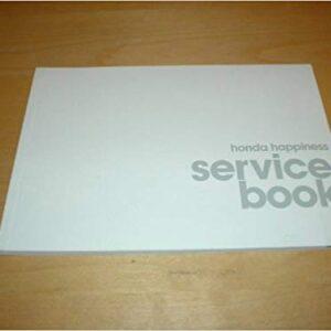 Honda Service Book