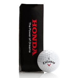 Honda Callaway Golf Balls