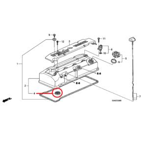 Honda S-2000 Spark Plug Seal 12342-PCX-004