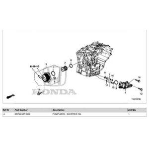 Honda Civic 2016 - Onwards Pump Assembly